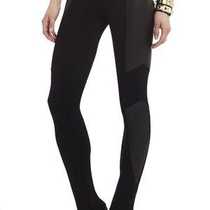 Mari foiled panelled leggings